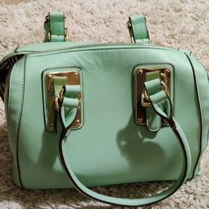 Charming Charlie Sea Foam Purse